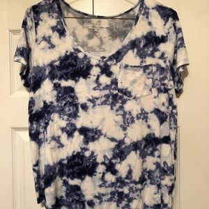 Hollister Must Have Collection tie dye tee soft